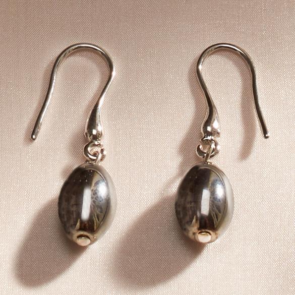 Hämatit-Ohrhänger