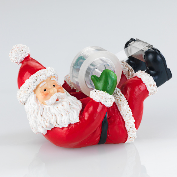 """Klebebandabroller """"Weihnachtsmann"""""""