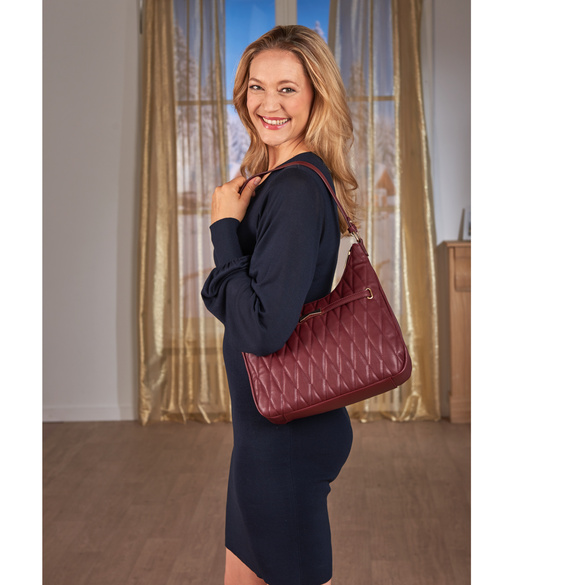 "Tasche ""Frieda"" bordeaux"