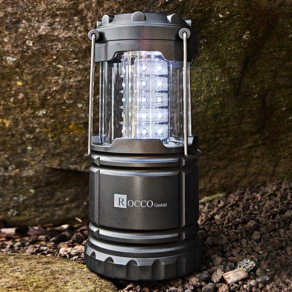 Camping- und Notfall-Leuchte