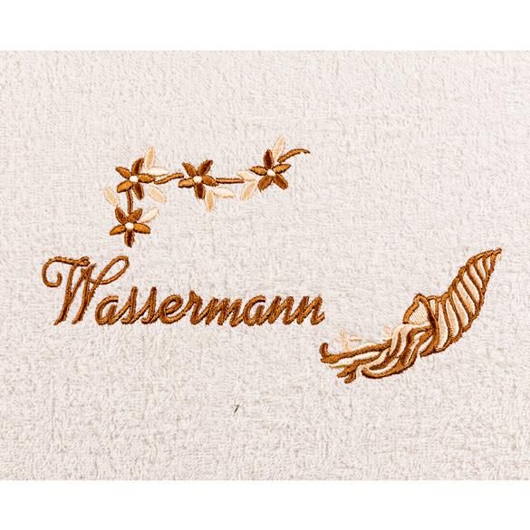 """Duschtuch """"Wassermann"""" beige"""