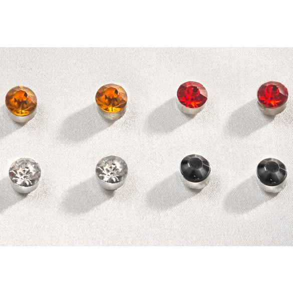 Magnet-Ohrstecker, 4 Paar