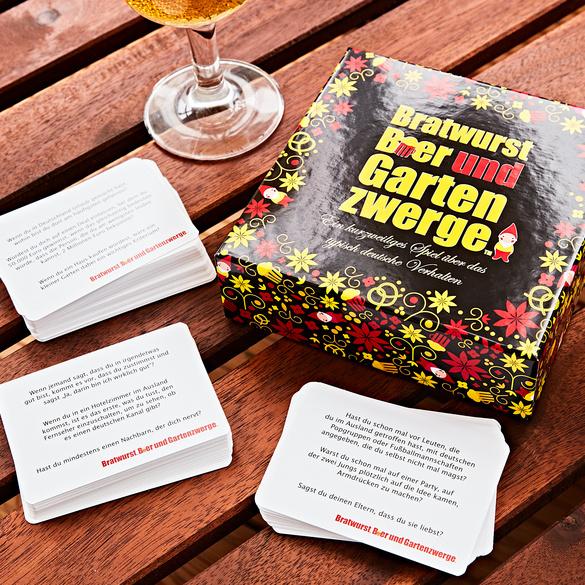 """Spiel """"Bratwurst, Bier und Gartenzwerge"""""""