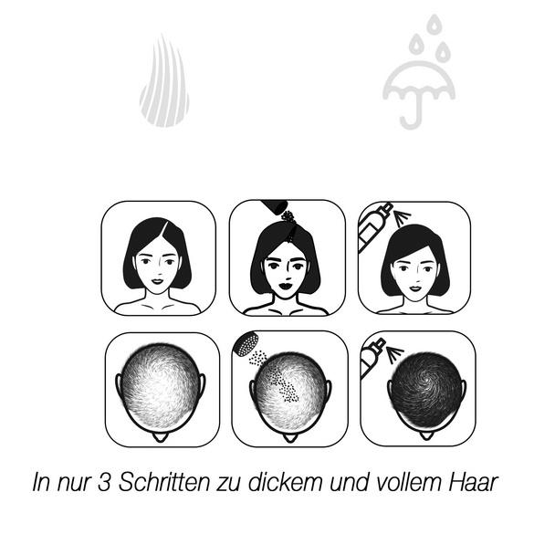 """Schütthaar """"Dunkelbraun"""""""