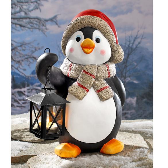 "Teelichthalter ""Pinguin"""