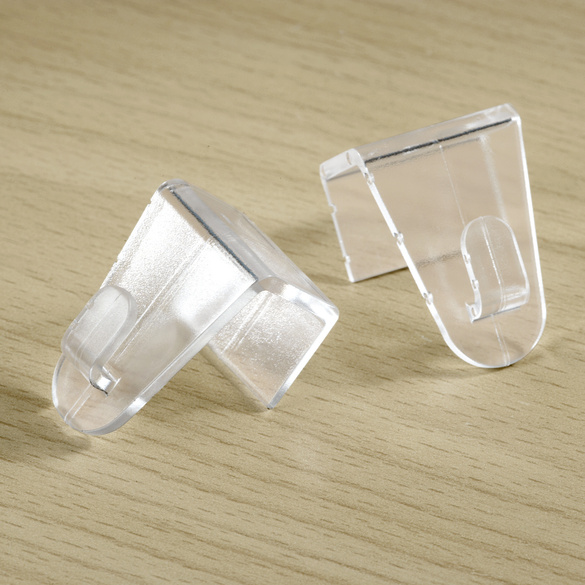 Fenster-Clips transp., 2er-Set