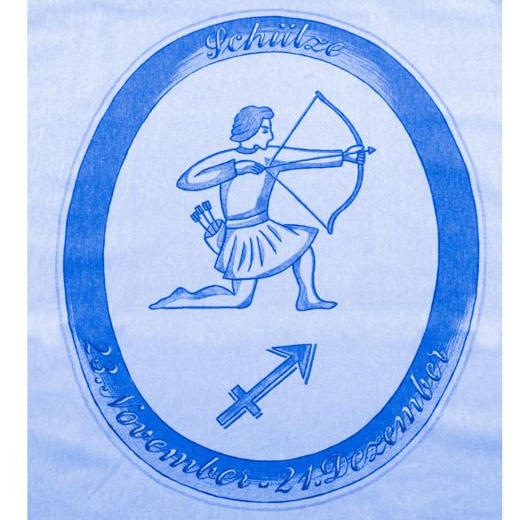 """Bettwäsche """"Schütze"""" hellblau, 2-tlg."""