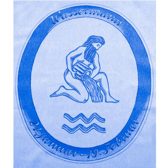 """Bettwäsche """"Wassermann"""" hellblau, 2-tlg."""