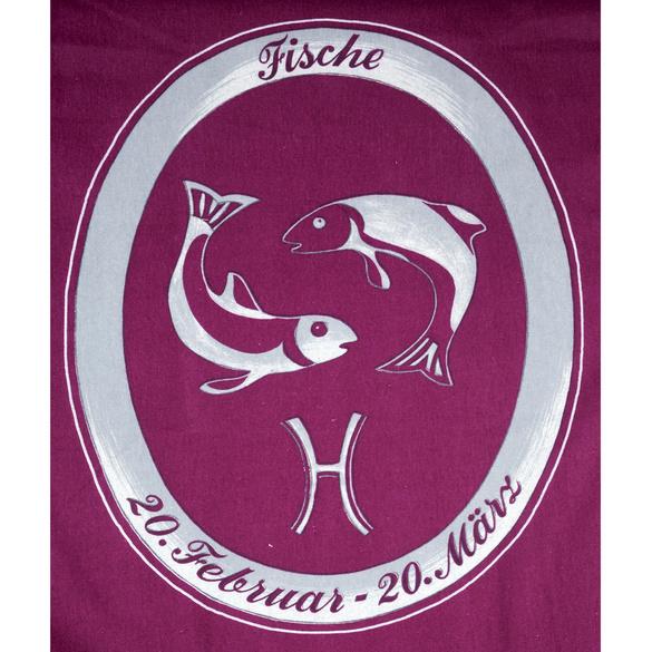 """Bettwäsche """"Fische"""" bordeaux, 2-tlg."""