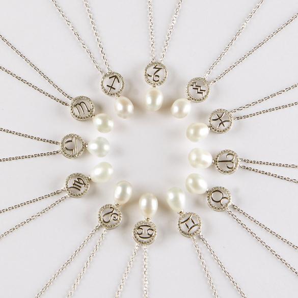 """Perlenkette """"Wassermann"""""""