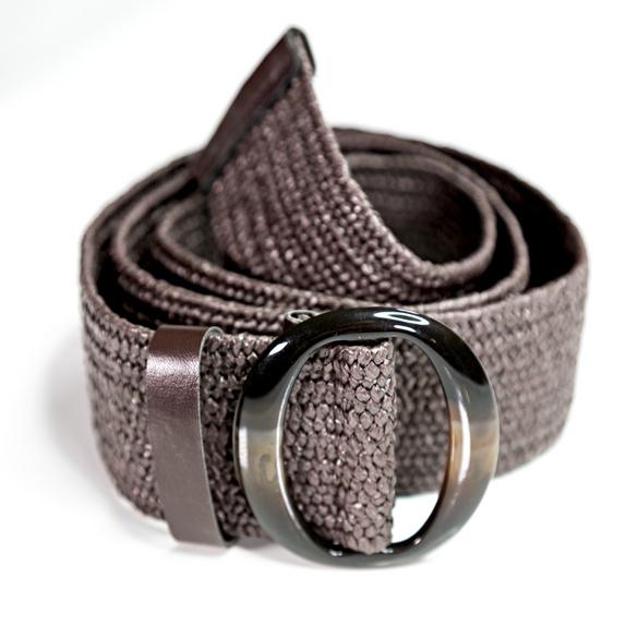 Stretch-Gürtel elastisch braun
