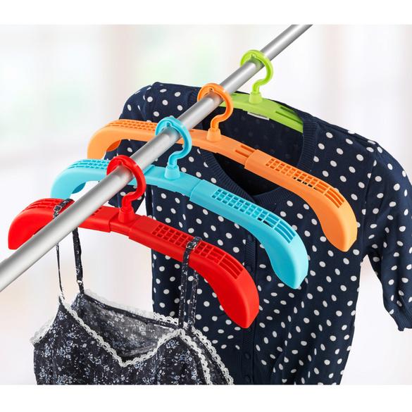 Kleiderbügel ausziehbar, 4er-Set