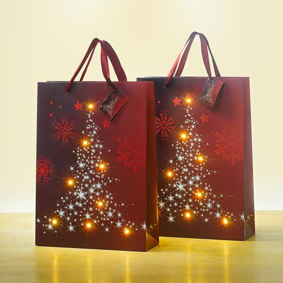 """1 LED-Geschenktüte """"Lichterbaum"""""""