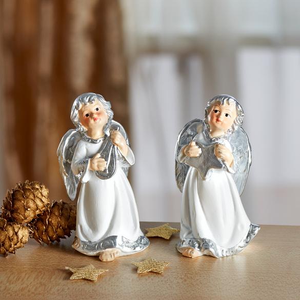 Engel-Figuren, 2er-Set