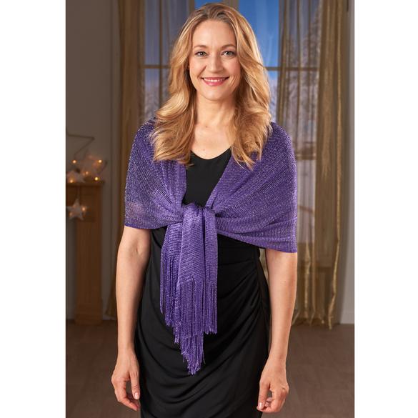 Stola/Schal violett