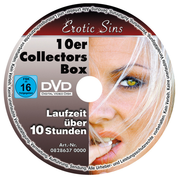 "DVD-Set ""Erotic Sins"", 10-tlg."