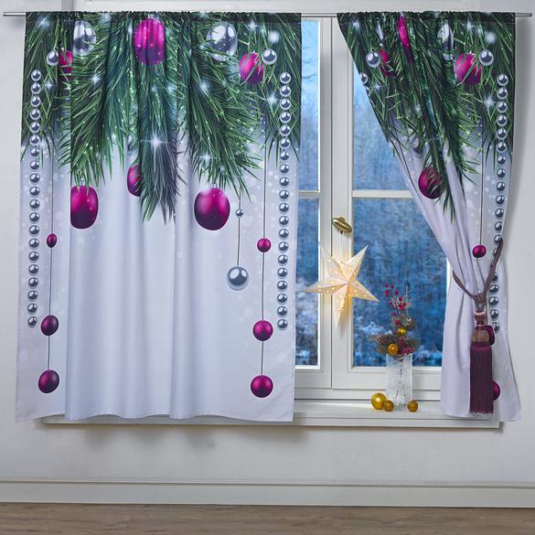 """Vorhang """"Baumschmuck"""", 140 x 140 cm"""
