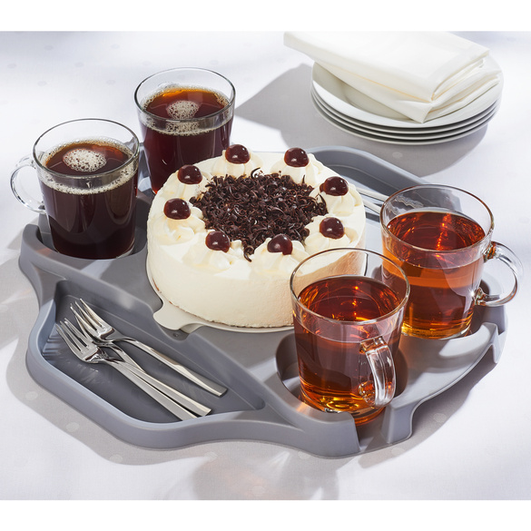 Kaffee-/Snack-Tablett