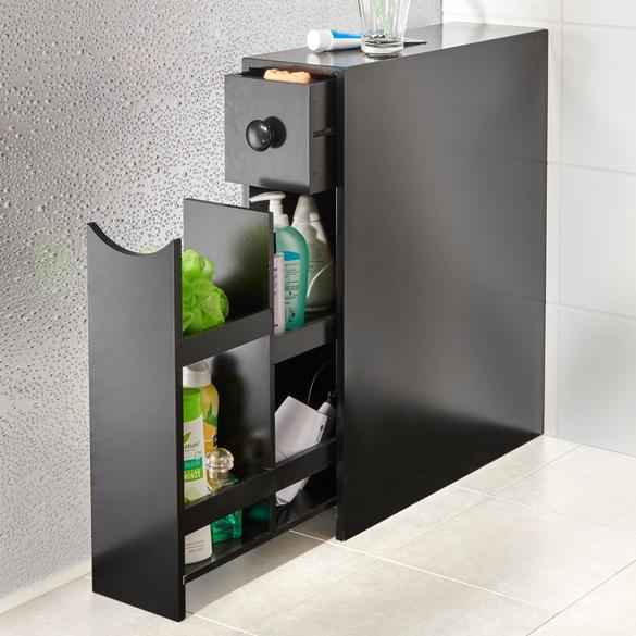 Badezimmerschrank schwarz