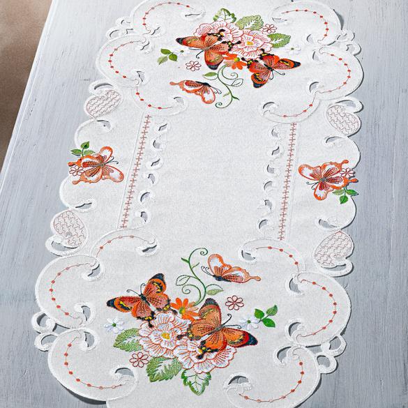 """Tischläufer """"Schmetterling"""""""