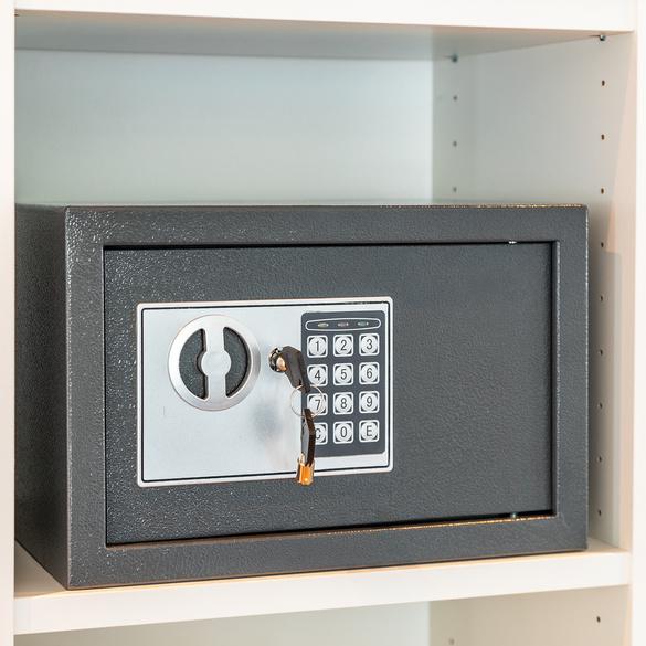 Safe mit Elektronik-Zahlenschloss