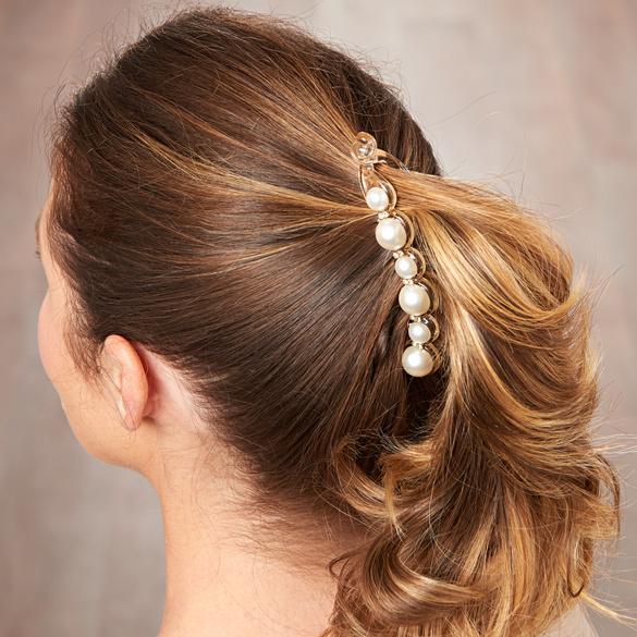 """Haarspange """"Perlen"""""""