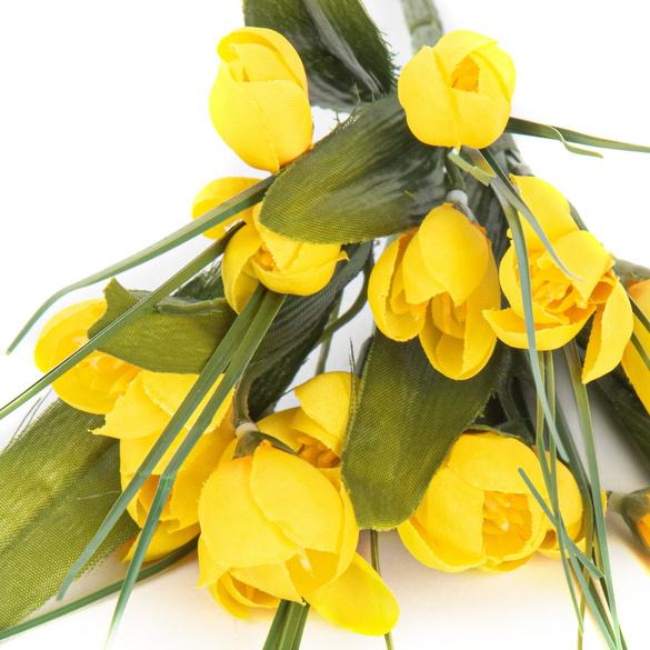 Krokuss-Strauß gelb