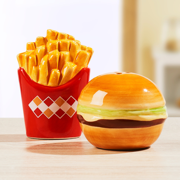 "Salz + Pfeffer ""Pommes + Burger"""