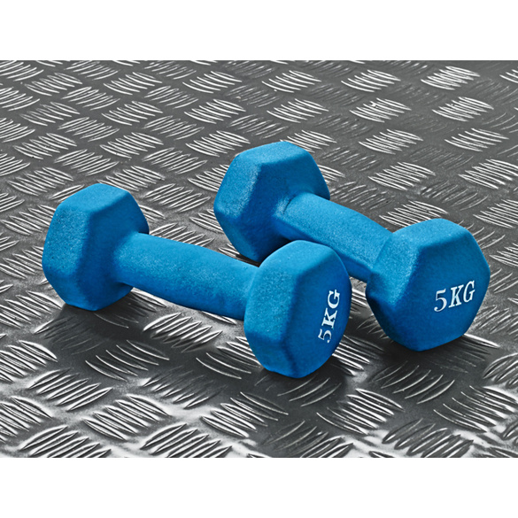 Hanteln 2er-Set, 5 kg
