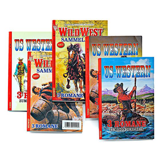 Abenteuer- und Westernromane