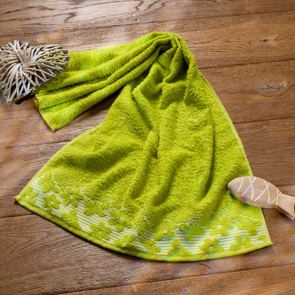 """Handtuch """"Schmetterling"""" grün Casa Bonita"""