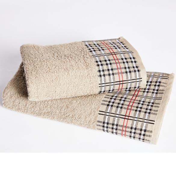 Handtuch Borte kariert