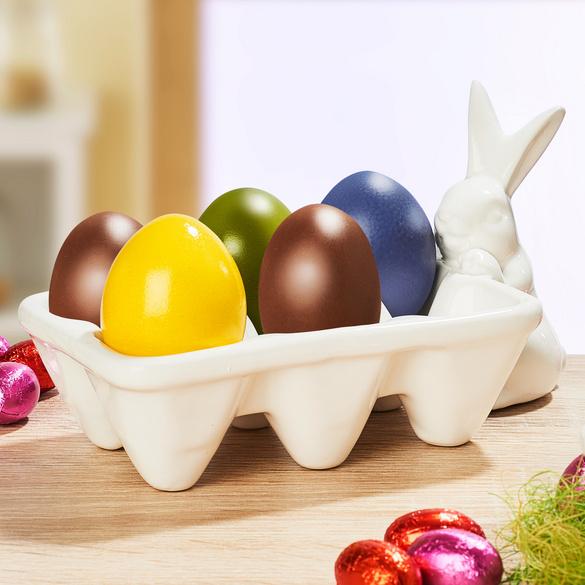 Eierschale mit Hase