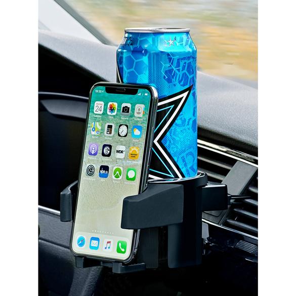 2in1 Getränke- & Smartphonehalter