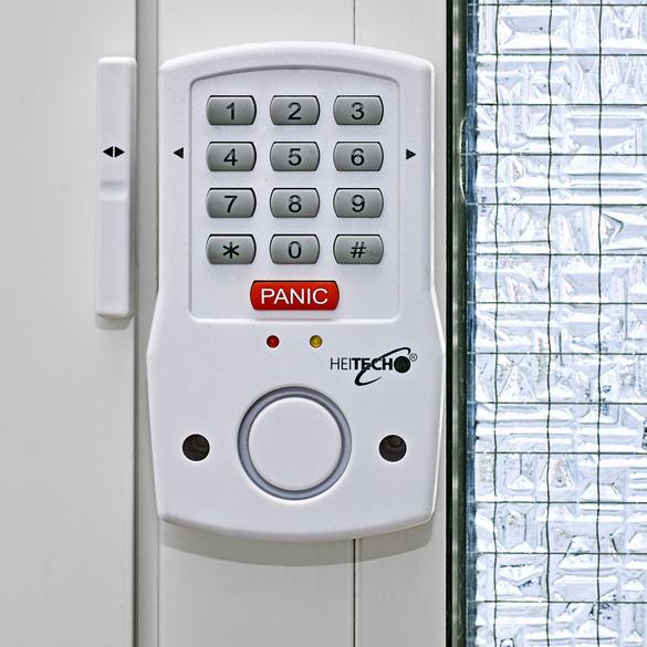 Tür-/Fensteralarm mit Code-Eingabe
