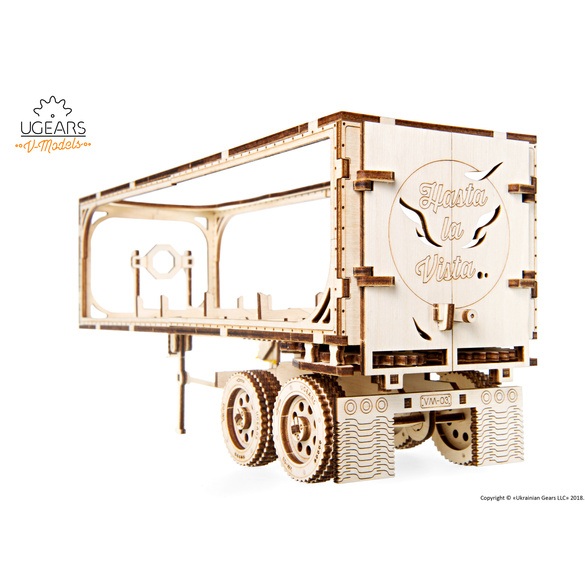 Holztrailer Bausatz