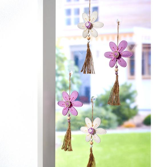 Blütenhänger lila