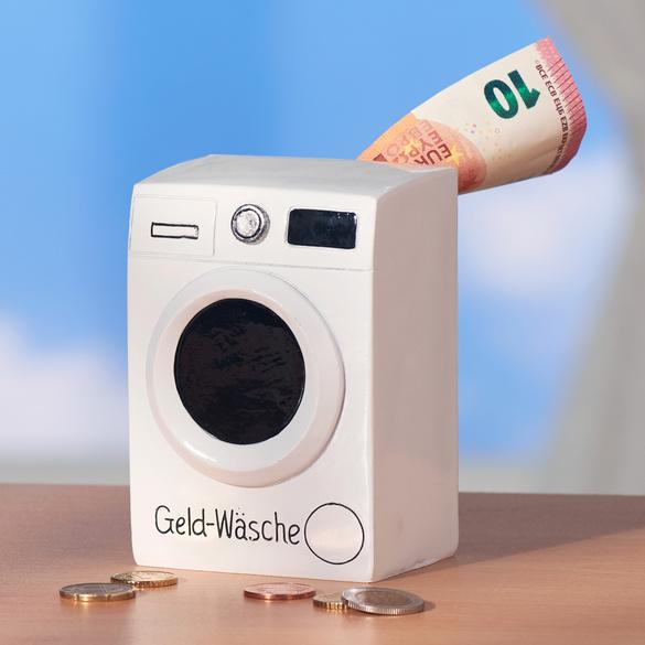 """Spardose """"Geld-Wäsche"""""""