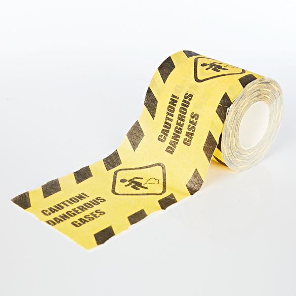Toilettenpapier Caution