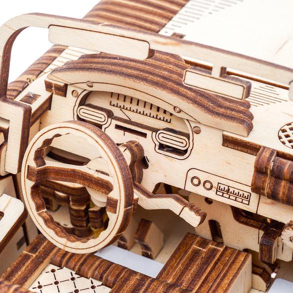 Holz-Modellbausatz Cabriolet