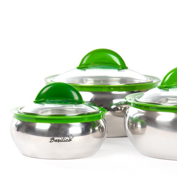 Thermoschüsseln grün Basilico