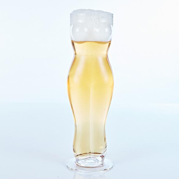 Trinkglas Frauentorso