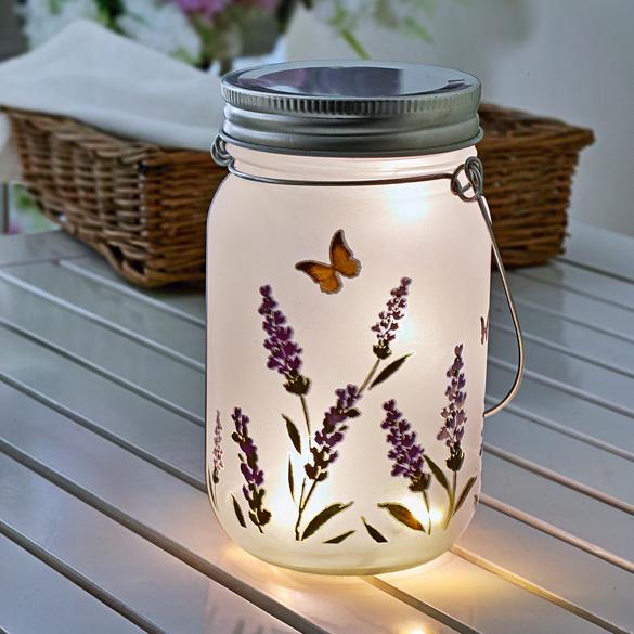 LED-Glasleuchte