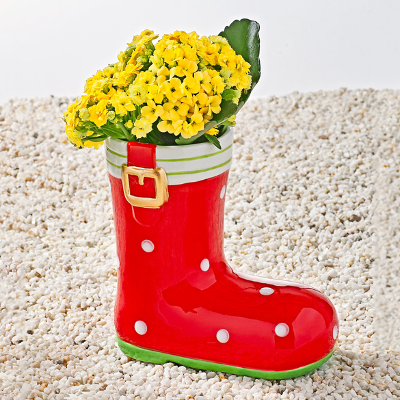 Pflanzstiefel rot