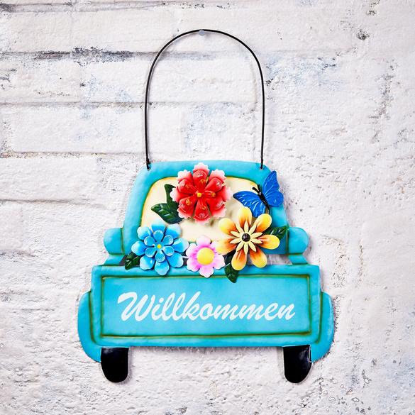 """Willkommen-Schild """"Auto"""""""
