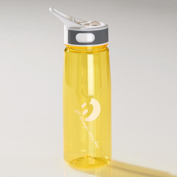 Trinkflasche gelb