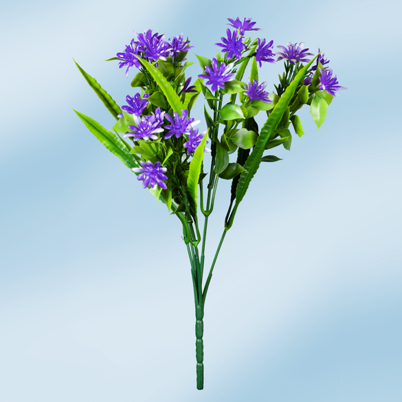 Sommerstrauß violett