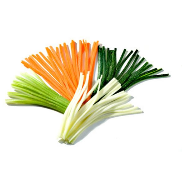 Gemüseschneider 2-in-1 schwarz