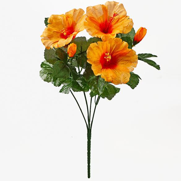 Hibiskus-Strauß orange