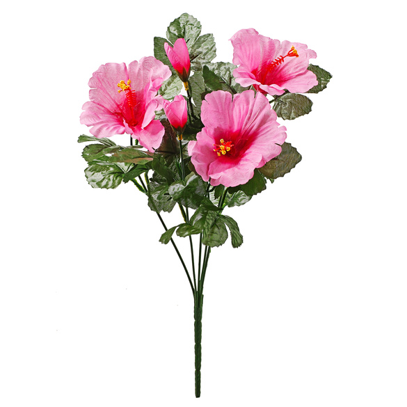 Hibiskus-Strauß pink